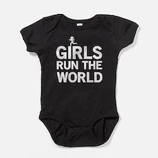 Girls run the world Baby Bodysuit