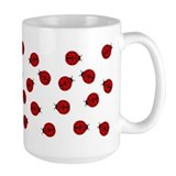 Ladybug mugs Coffee Mugs
