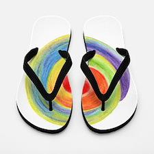 Unique Chakras Flip Flops