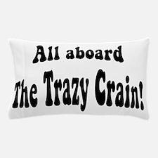 Cute Train insane Pillow Case