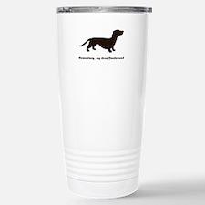 Elementary, my dear Dachshund Travel Mug