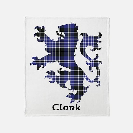Lion - Clark Throw Blanket