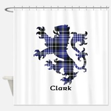 Lion - Clark Shower Curtain