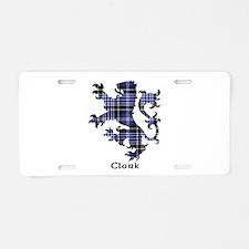 Lion - Clark Aluminum License Plate