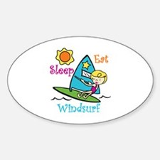 Eat Sleep Windsurf Decal