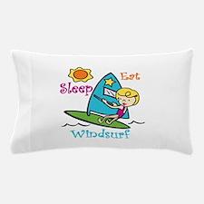 Eat Sleep Windsurf Pillow Case