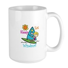 Eat Sleep Windsurf Mugs