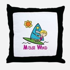 Maui Wind Throw Pillow