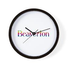 Beaverton Wall Clock