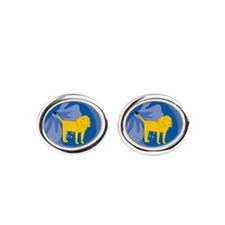 Lion Oval Cufflinks