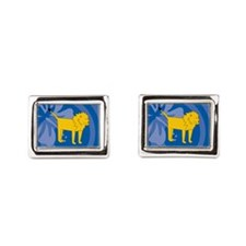 Lion Rectangular Cufflinks