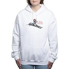 Great Dane Merley Xmas U Women's Hooded Sweatshirt