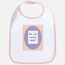 I'm The Cutest Twin - Girl Bib - Matching Items
