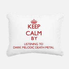 Darkness radio Rectangular Canvas Pillow