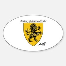 Academy of Grace and Valor Decal