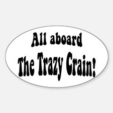 The Trazy Crain Decal
