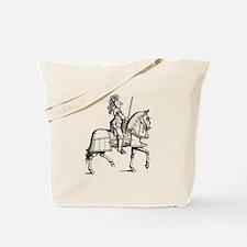 Knight in Armor Tote Bag