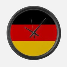 Germany Flag Large Wall Clock