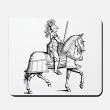 Knight in Armor Mousepad
