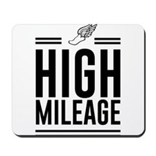 High mileage running Mousepad