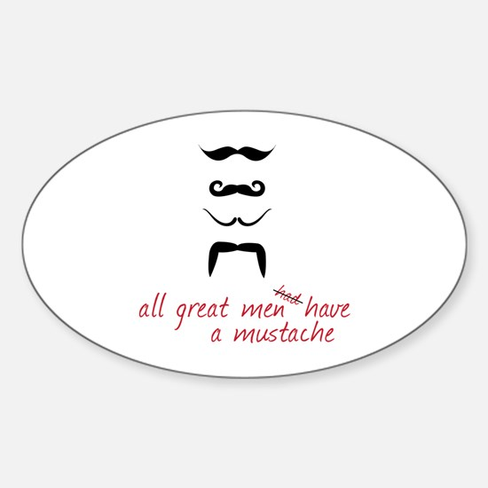 All Great Men Decal