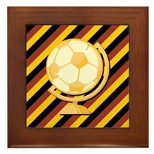GERMAN SOCCER Framed Tile