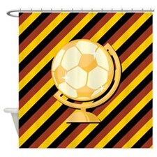 GERMAN SOCCER Shower Curtain