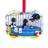 Summer dog Picture Frame Ornaments