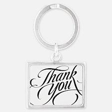 Thank You Landscape Keychain