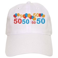 50 years old - 50th Birthday Baseball Baseball Cap