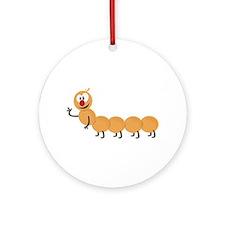 Caterpillar Ornament (Round)