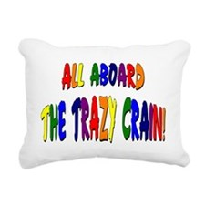 Trazy Crain Rectangular Canvas Pillow