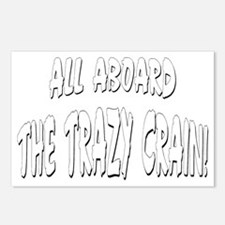 Trazy Crain Postcards (Package of 8)