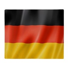 Germany Artistic Flag Throw Blanket