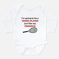 Tennis Player Like My Grandpa Body Suit