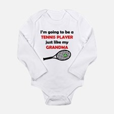 Tennis Player Like My Grandma Body Suit