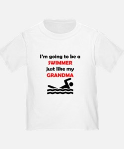 Swimmer Like My Grandma T-Shirt