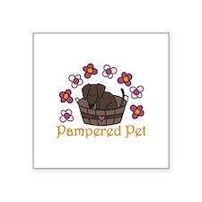 Pampered Pet Sticker