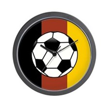 GERMAN SOCCER Wall Clock