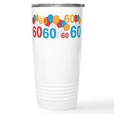 60 years old - 60th Birthday Travel Mug