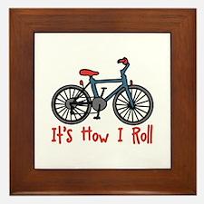 How I Roll Framed Tile