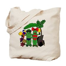 Pickles in Paradise Tote Bag