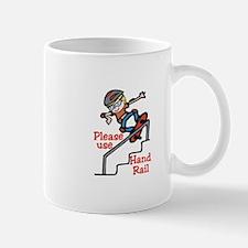 Use Hand Rail Mugs