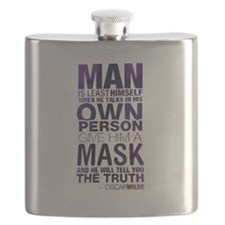 Cute Guy fawkes mask Flask