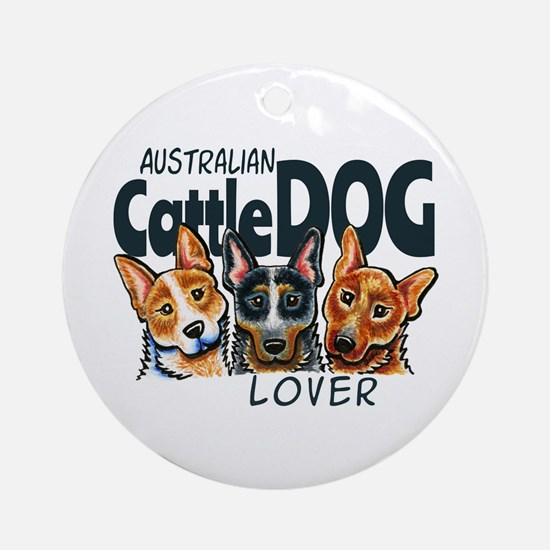 ACD Lover Ornament (Round)