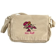 Lets Roll Messenger Bag
