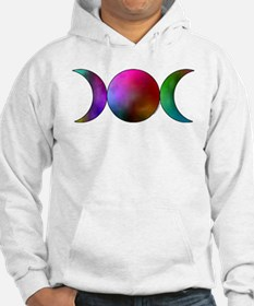 Triple Moon Hoodie - Watercolor