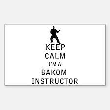 Keep Calm I'm a Bakom Instructor Decal