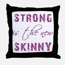 STRONG IS... Throw Pillow