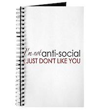 I don't like you Journal
